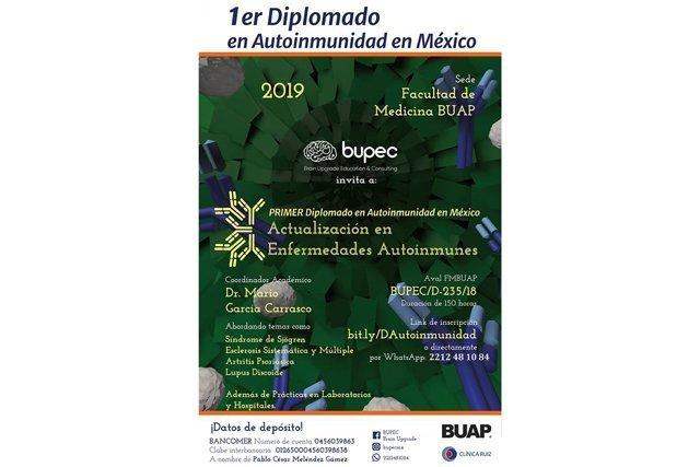 Facultad de Medicina y Brain Upgrade Education & Consulting realizarán el primer Diplomado de Autoinmunidad en México