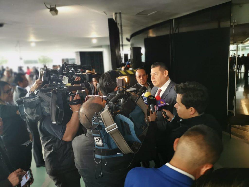 """""""Seré el candidato del pueblo, no de la imposición"""": Alejandro Armenta"""