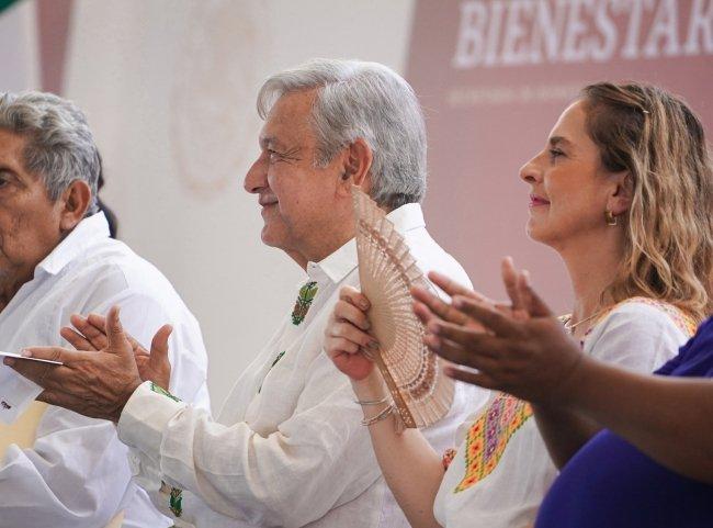 Anuncia AMLO 40 mil mdp para Tren Maya en Quintana Roo