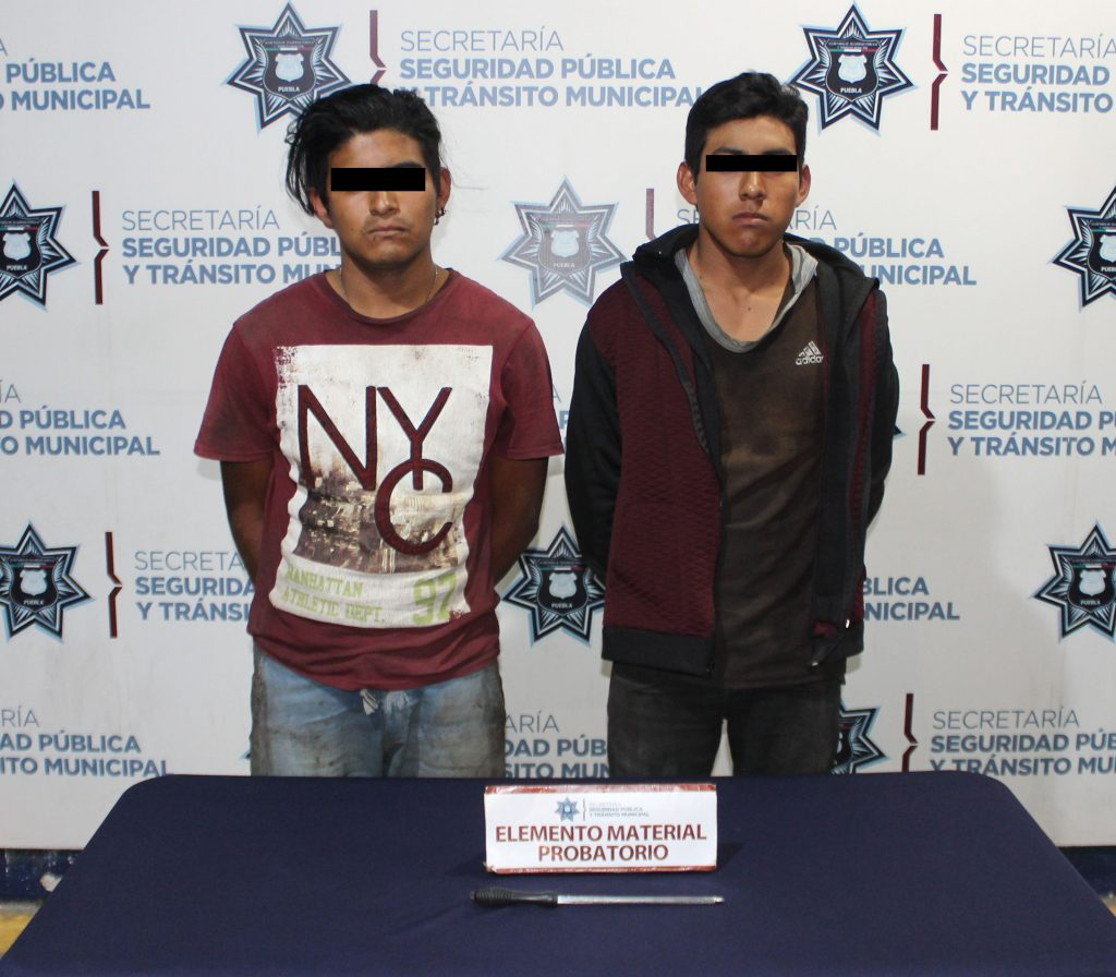 Con éxito, frustró SSPTM de Puebla robo a institución bancaria