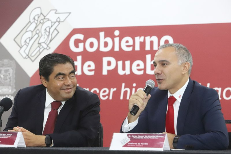 HUF México anuncia inversión para Puebla por mil 84.4 mdp