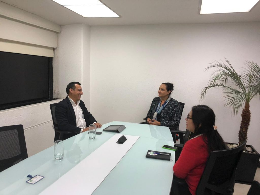 Coordinan esfuerzos titular del Organismo de Limpia y representante de ONU Medio Ambiente México