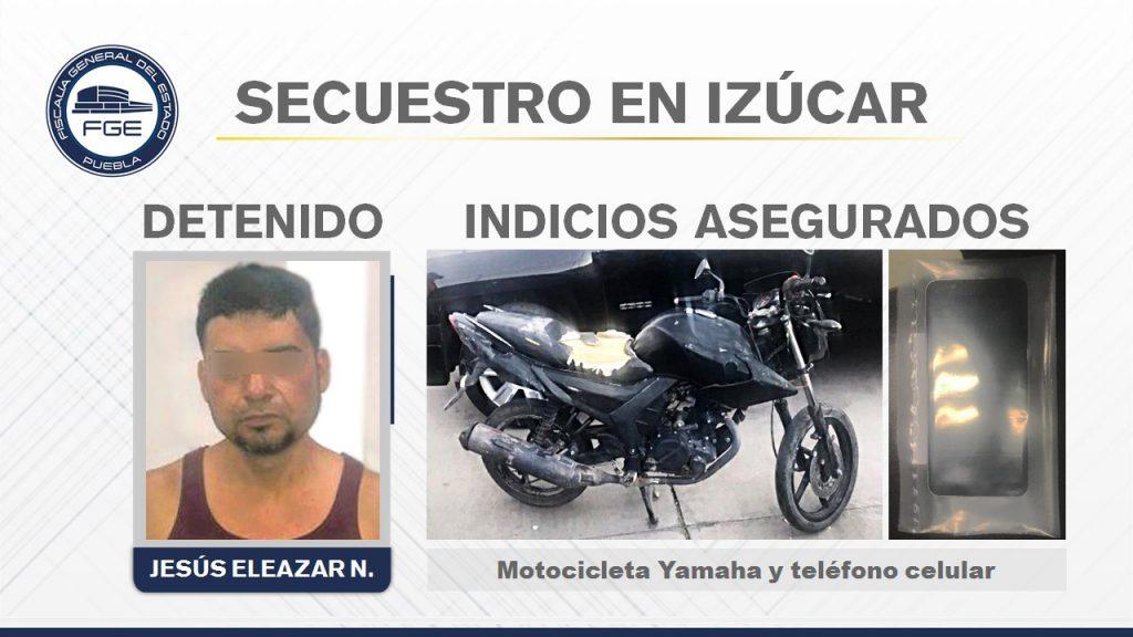 FISDAI detuvo a presunto secuestrador de un comerciante de Izúcar